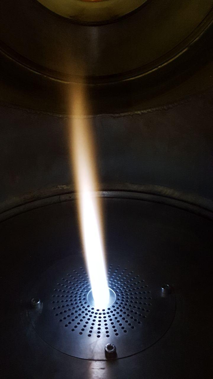 Sprayflammendüse im Kundenauftrag